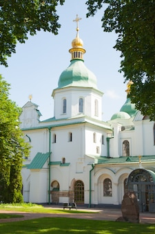 Collector of st. sophia, sophia cathedral. ukraine kiev.  religion christianity orthodox culture