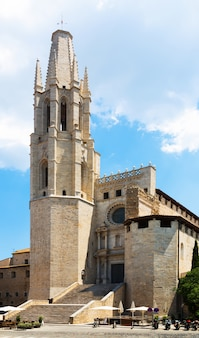 Sant feliuの教会教会。ジローナ