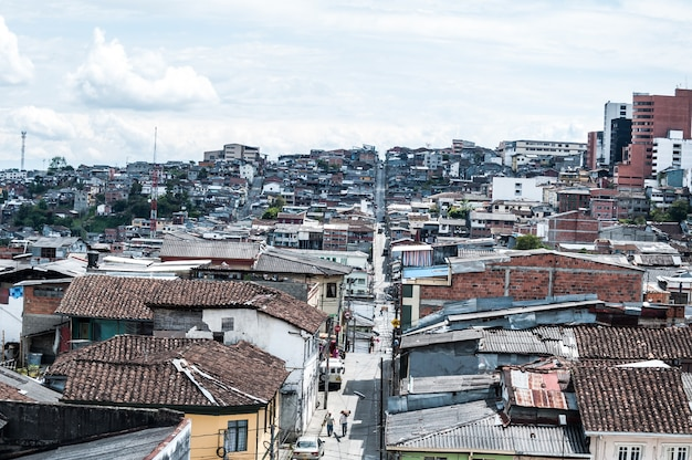 Colombia manizales city south america