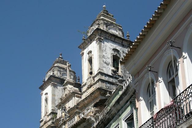 サルバドールの植民地時代の建築-ブラジル、ペロウリーニョ。 2017年。