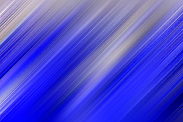 色の抽象的な縞模様の斜めの青い線の背景。
