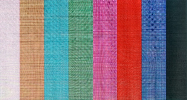 Color bars television test pattern background