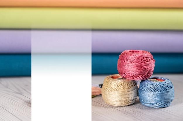 刺繡店のカラーキャンバス