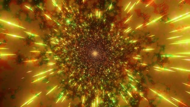 색상 변경 4k uhd 공간 은하 개념 3d 그림
