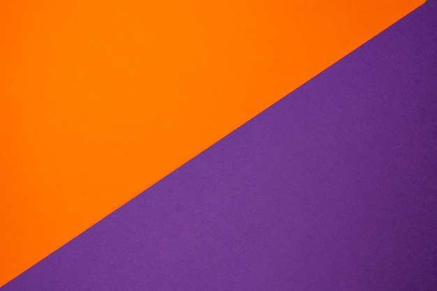 Color combination, geometric  of two sheets, copyspace