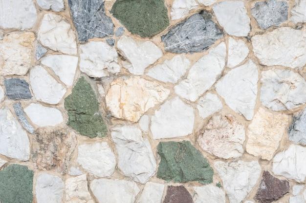 色装飾された石の床のテクスチャ