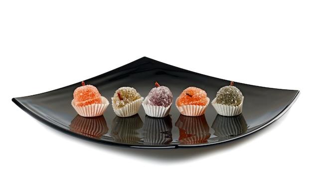 Цветные мармеладные конфеты