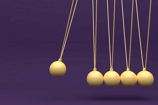 Color full newton ball, балансный мяч