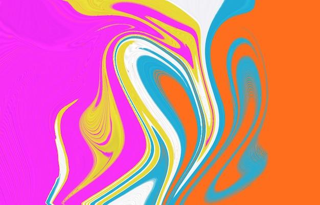 色のグラデーションの背景デザイン液体の形をした抽象的な幾何学的な背景クールな背景