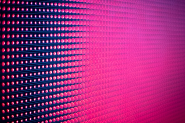 Color light led screen pink purple abstract texture background