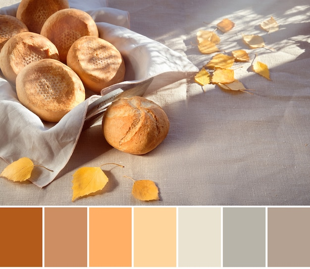 Color matching palette