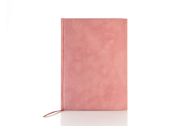Color notebook notepad isolated on a white background.