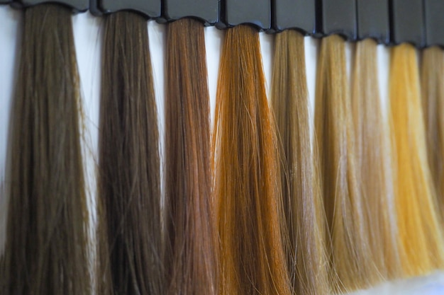 Цвет краски для волос