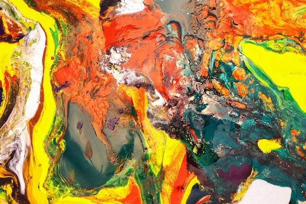 Color painting can be used as a trendy background for posters, cards, invitations, wallpapers.