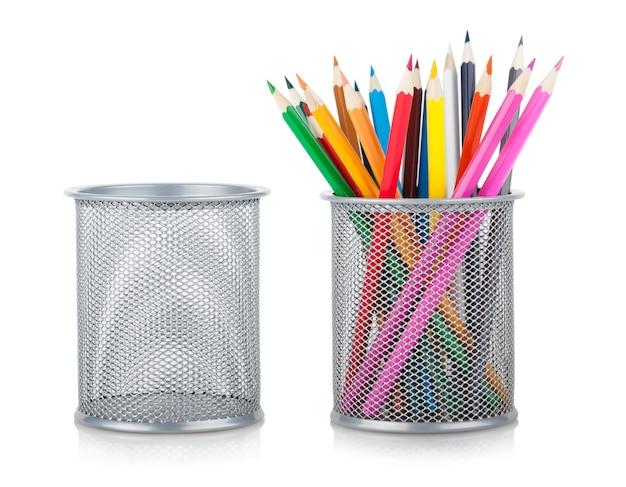 色鉛筆とホルダー