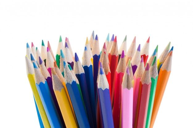 色鉛筆を集める