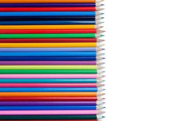 カラー鉛筆の整列