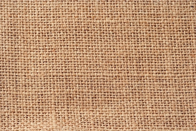 Color sack fabric bag jute beige brown