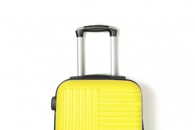 Цветная дорожная сумка на белом