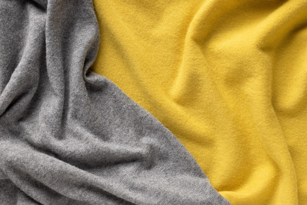 Color of the year 2021. cozy knitted fabric