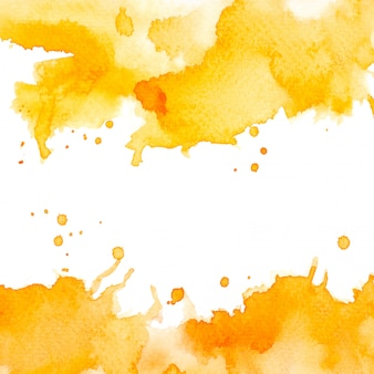 Color yellow watercolor.image