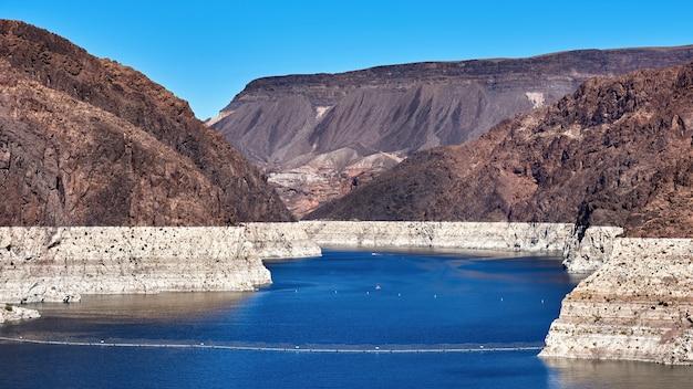 米国ネバダ州のコロラド川