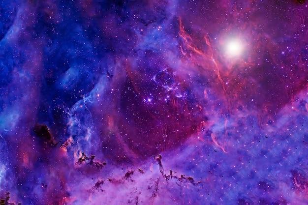 着色された美しい銀河。 nasaから提供されたこの画像の要素。高品質の写真