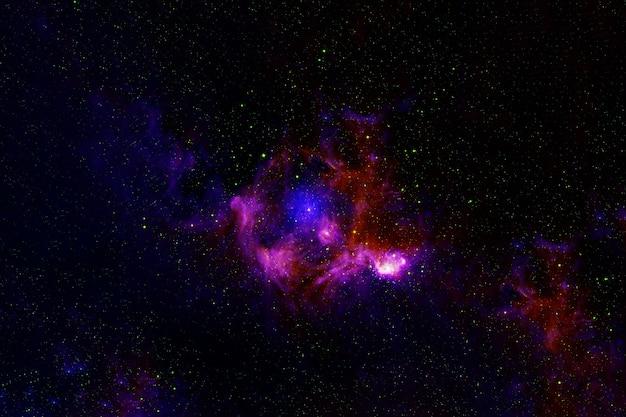 着色された美しい銀河。この画像の要素はnasaによって提供されました。高品質の写真