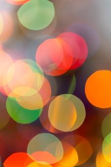 色付きのボケ元日とクリスマス、ぼかし