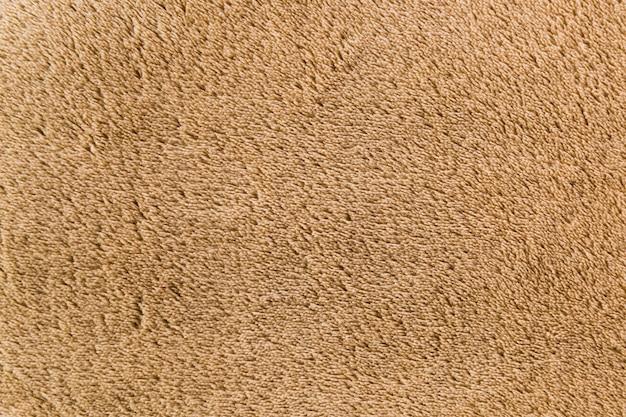 柔らかい繊維で着色されたカーペット表面