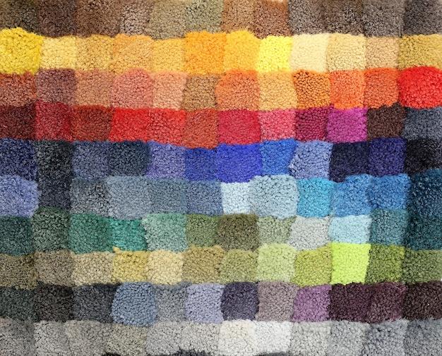 Colored carpet texture