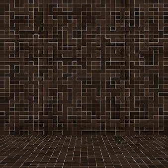 Цветные керамические камни. абстрактная гладкая коричневая мозаика мозаики абстрактной керамической украсила здание. абстрактный бесшовные модели.