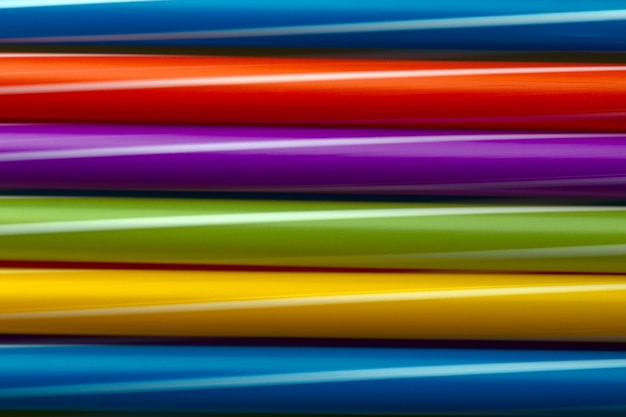 Colored cocktail tubes background