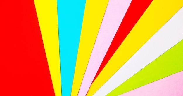 彩色纸张纹理背景。选择性聚焦摘要