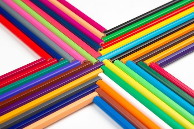 흰색에 그리기위한 색연필