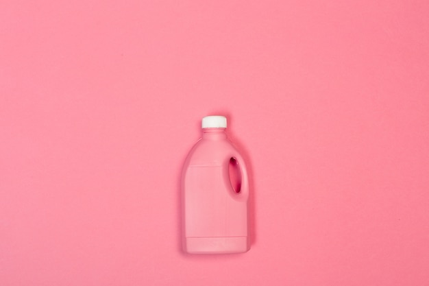 Colored plastic bottle