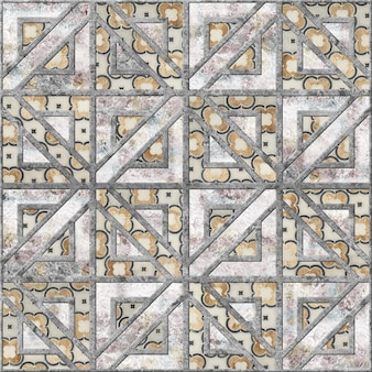Colored relief mosaic made of natural stone. background texture. element for interior design. cobblestone paving slabs