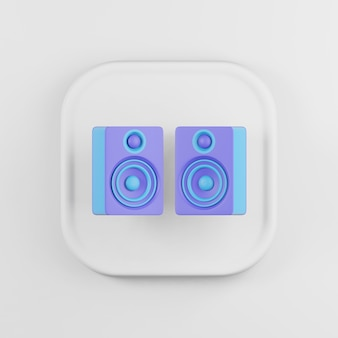 Colored speakers icon