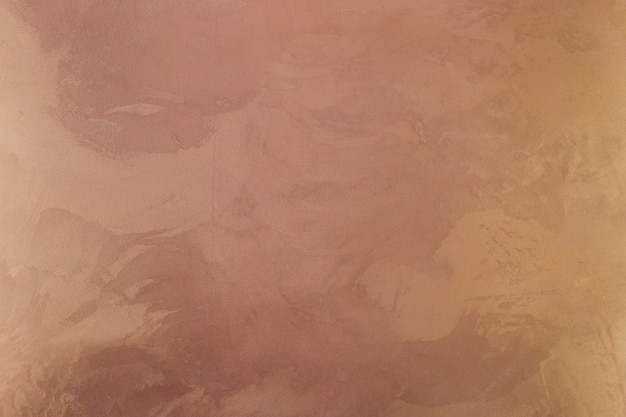 Colored wall surface with stains