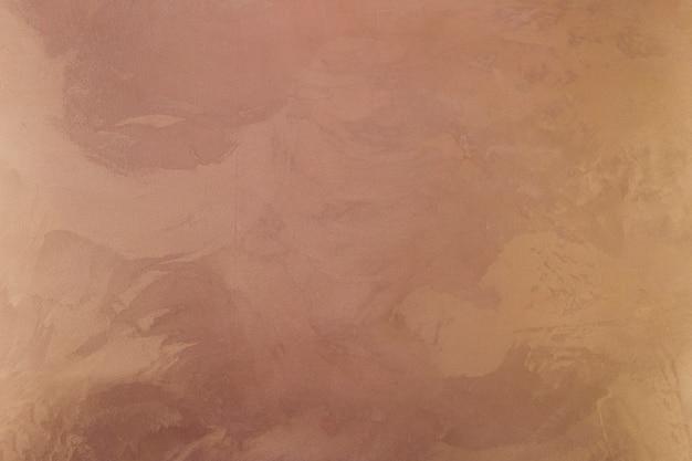 汚れのある着色された壁面