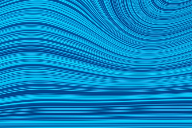 Colored wavy background. abstract futuristic fractal image, streaks wave background. 3d illustration, 3d rendering.
