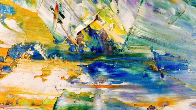 Красочный абстрактный фон картина маслом на холсте