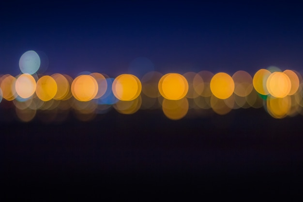 Colorful abstract bokeh background