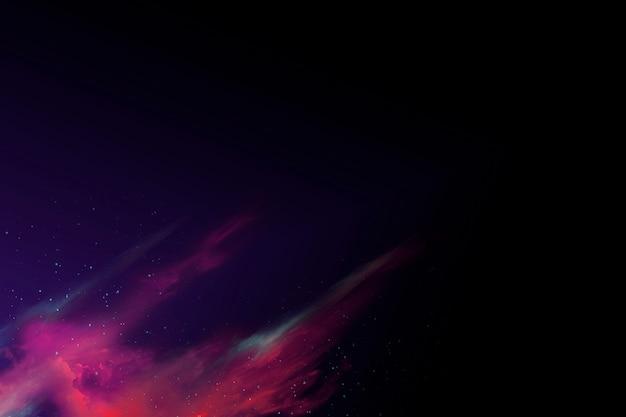 Красочный абстрактный космический фон туманность