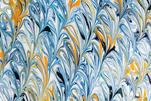 Красочный абстрактный окрашенный фон. текстурированный