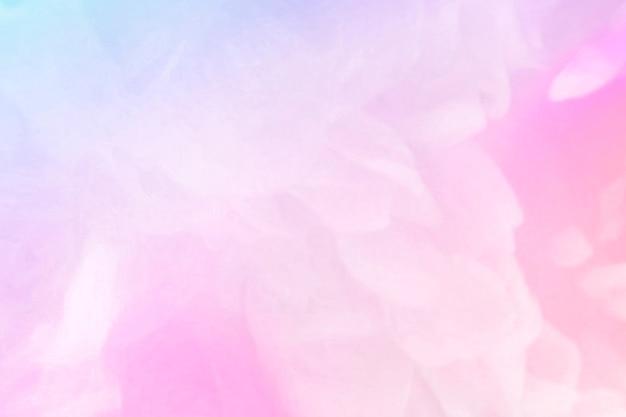 다채로운 추상적인 파스텔 꽃무늬 배경