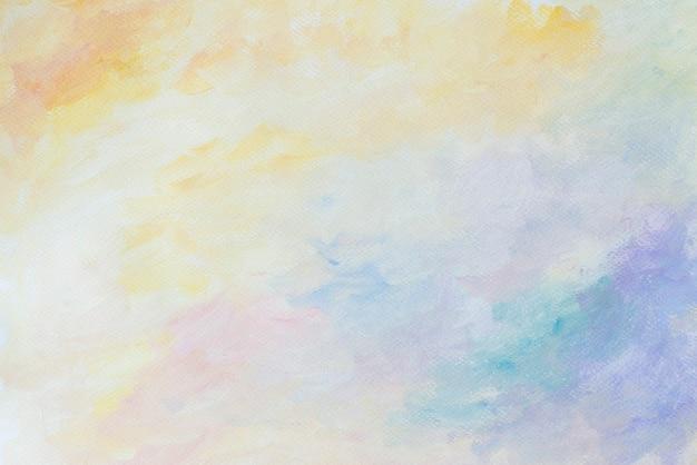 Красочный абстрактный пастельный акварельный фон