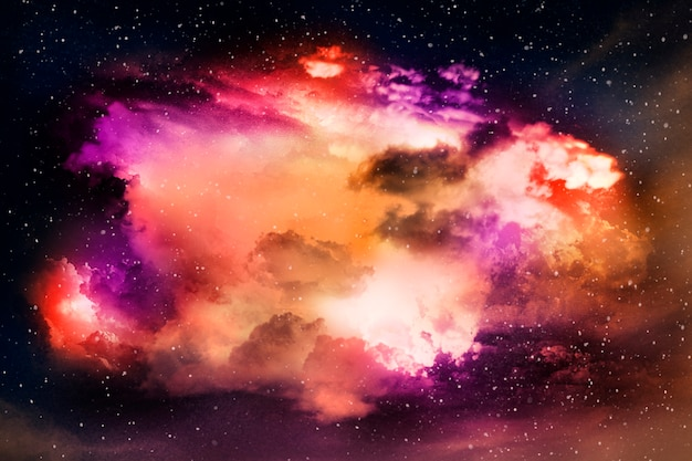 Красочная абстрактная вселенная текстурированный фон