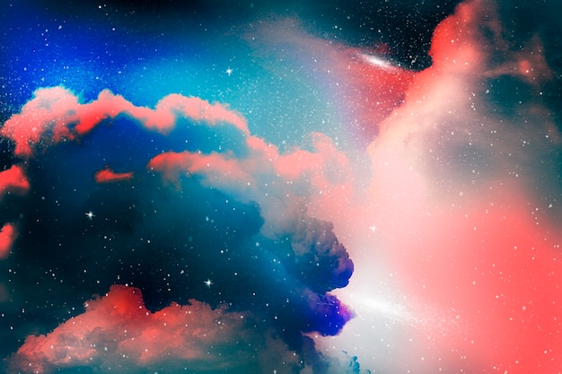 Colorful abstract universe textured