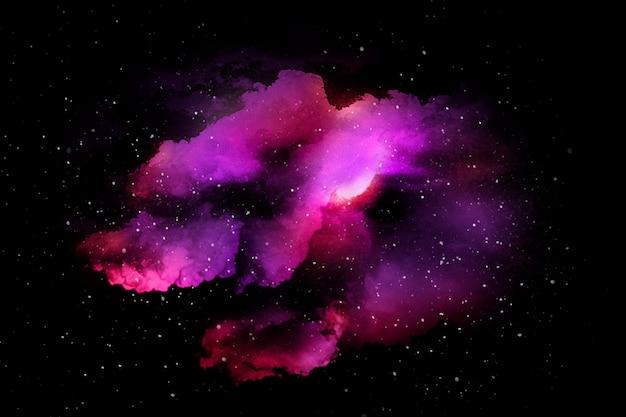 Красочная абстрактная вселенная с текстурой